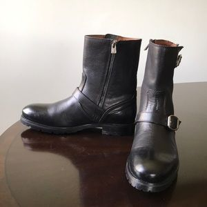 7fe3f71be1db Jimmy Choo Shoes - Jimmy Choo Men s Size 12M (42) Blk Rugged Boots